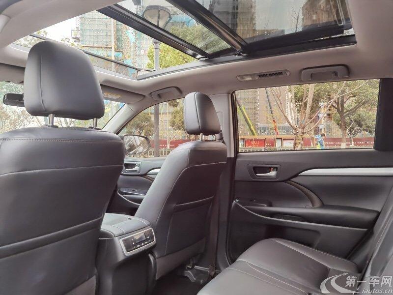 丰田汉兰达 2015款 2.0T 自动 四驱 至尊版 (国Ⅴ)