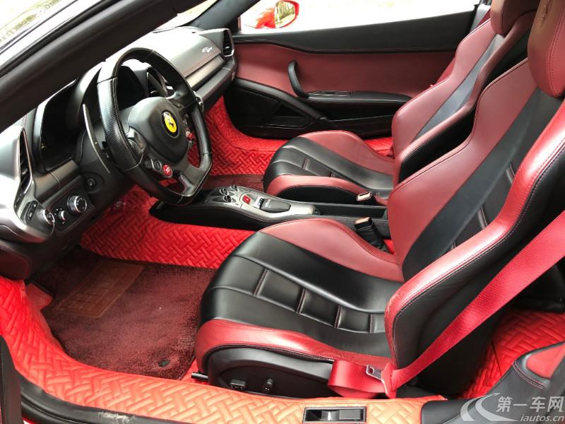 法拉利458 [进口] 2009款 4.5L 自动