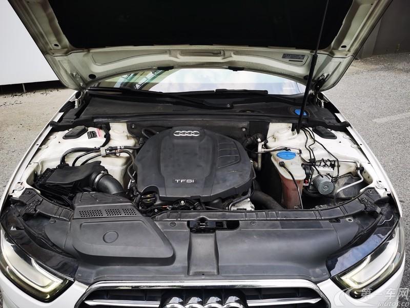 奥迪A4L 2016款 2.0T 自动 标准型典藏版 (国Ⅴ)